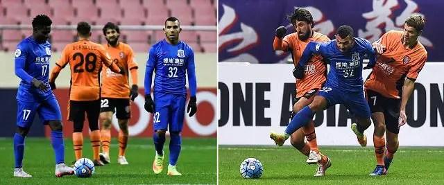 Martins, Tevez Fire Blanks As Shenhua Crash Out Of Asian Champions League