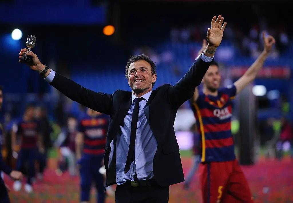 """""""Tired"""" Luis Enrique Announces Barcelona Exit"""