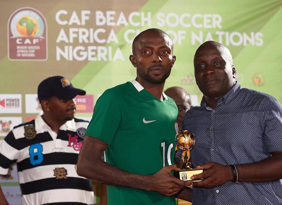 FIFA Beach Soccer W/Cup: Nigeria Captain Olawale Targets Quarter-finals