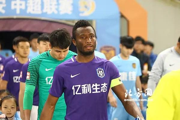Mikel: I'm Fit To Play, Help Tianjin TEDA Return ToWinning Ways