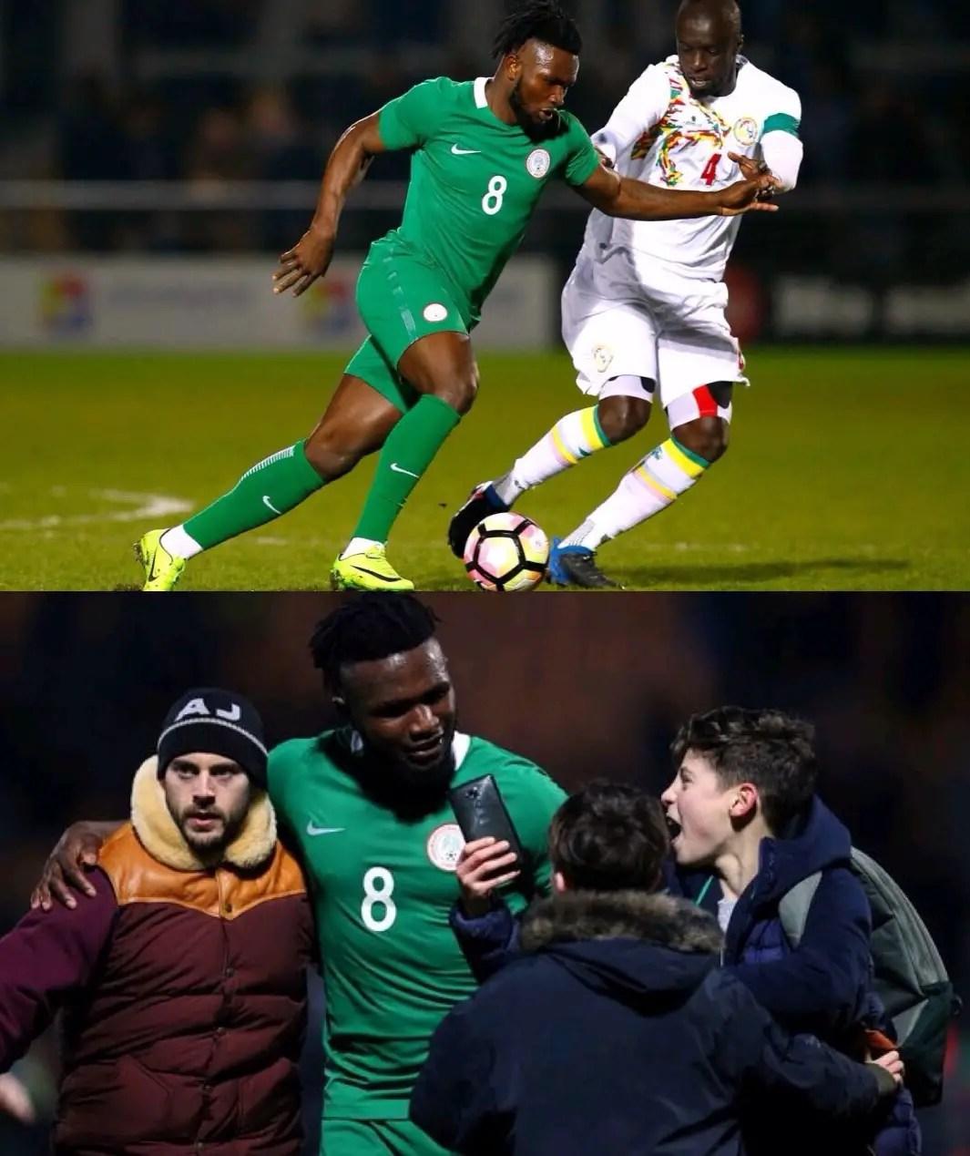 Success Relishes Super Eagles Debut Vs Senegal
