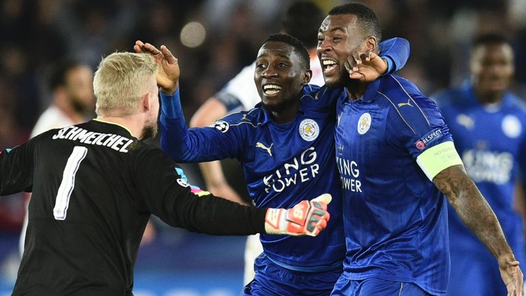 Ndidi Up Against Morgan, Schmeichel For Leicester Vs Sevilla Best Player Honour