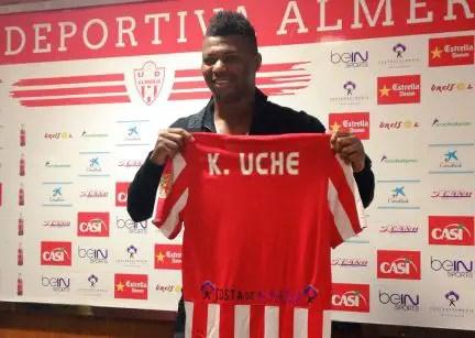 Kalu Uche Nominated For LaLiga 123 Player Of The Week Award