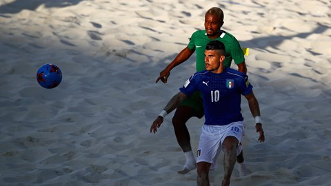 Beach Soccer World Cup: Disu Blames NFF For Nigeria's Defeat To Italy