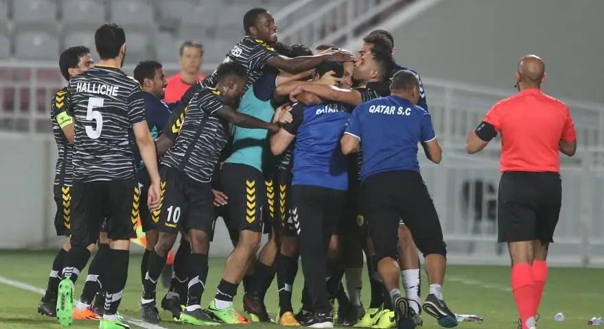 Michael Babatunde Helps SC Qatar Gain Promotion