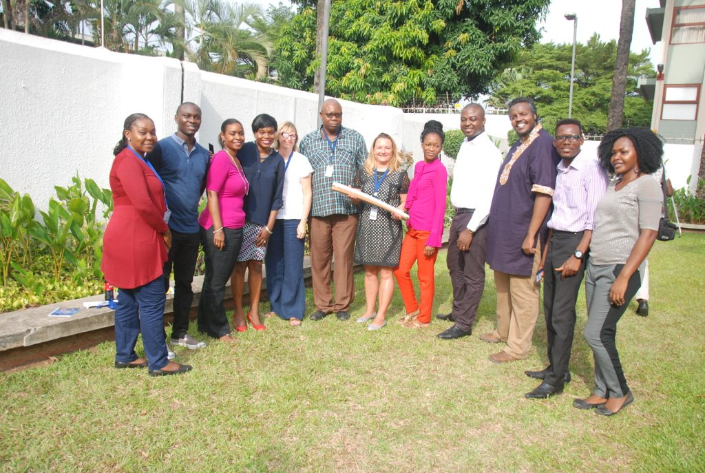 2018 Commonwealth Games: British Council Nigeria Receives Queen's Baton