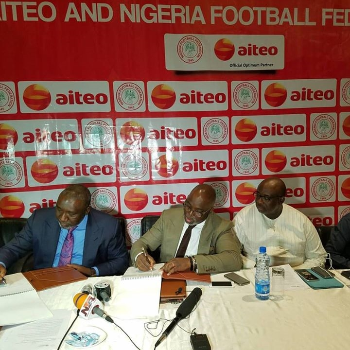 Oil Company Aiteo Signs N2.5Bn Sponsorship Deal With NFF