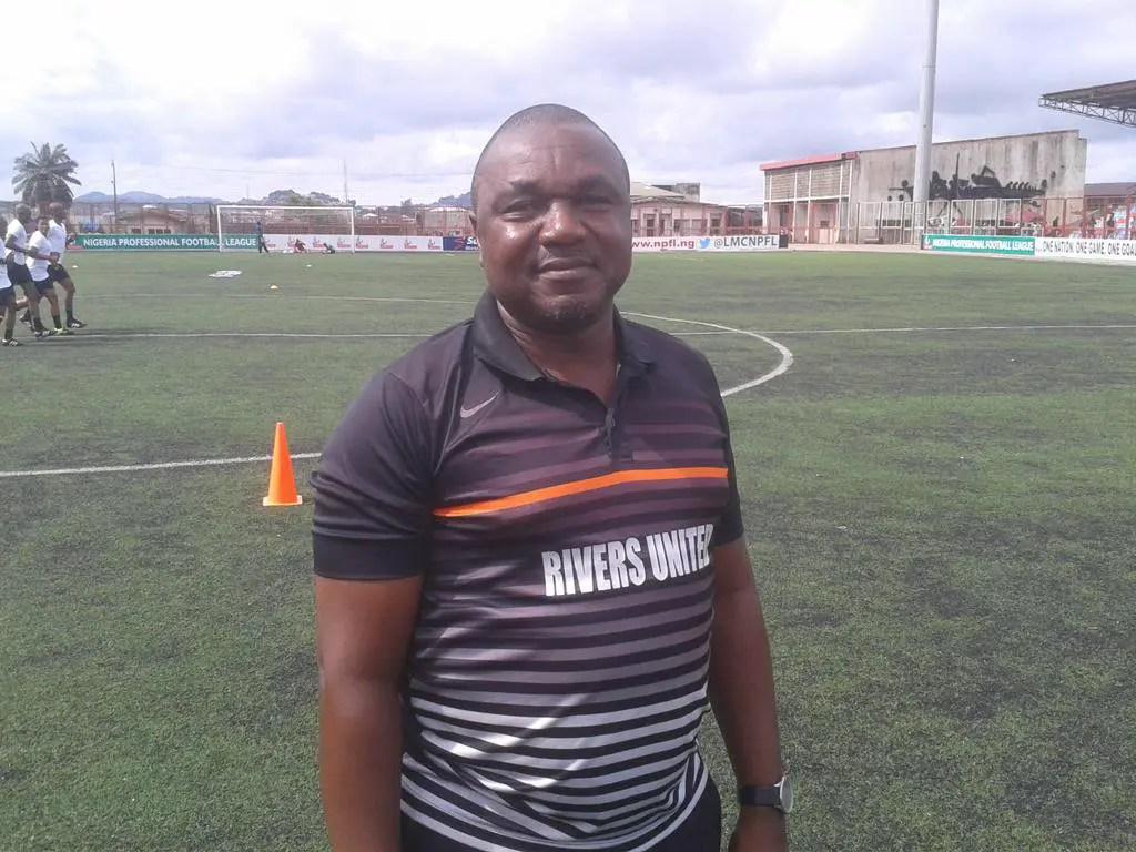 Rivers United Coach, Udube: We'll Avoid Similar El Merreikh Disaster Against Rayon Sport