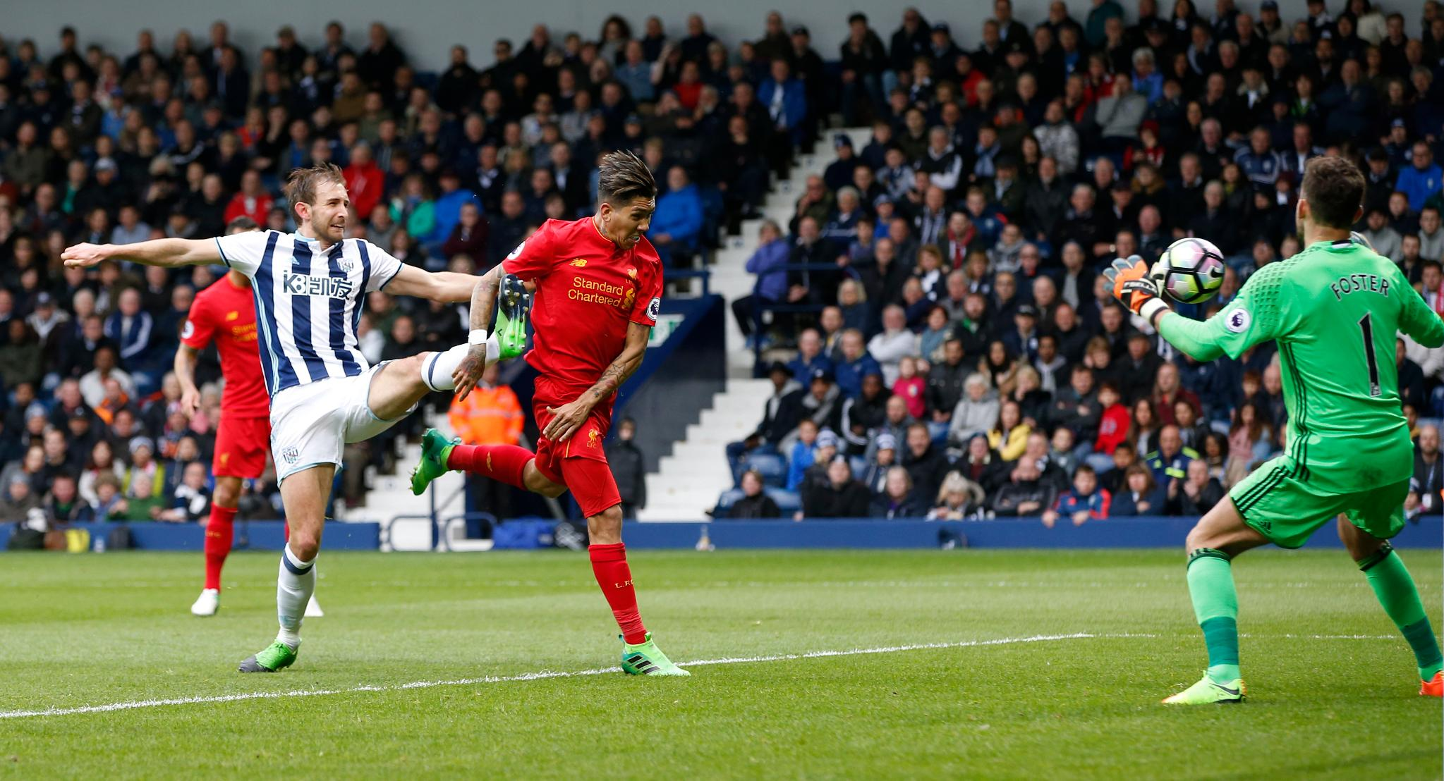 Liverpool Edge West Brom, Boost EPL Top Four Chances
