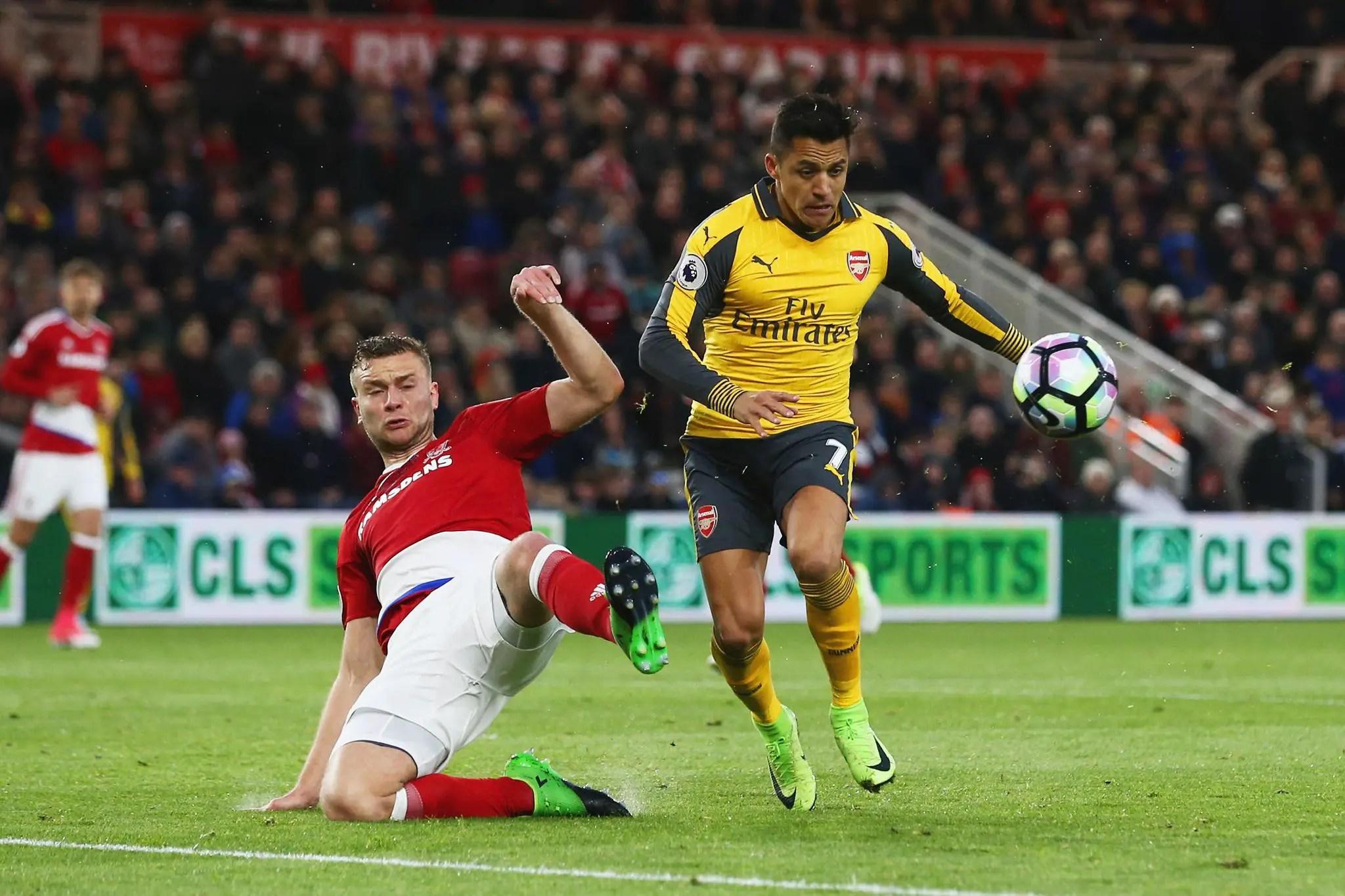 Iwobi Benched Again As Arsenal Edge Middlesbrough