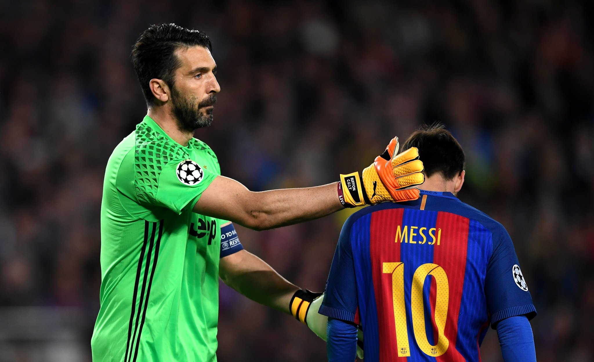 UCL: Juventus Knock Out Barcelona As Monaco Advance Into Semis