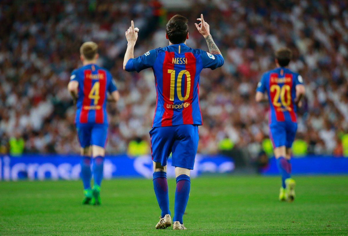 Messi Hits Historic Goal As Barca Stun Madrid In El Clasico