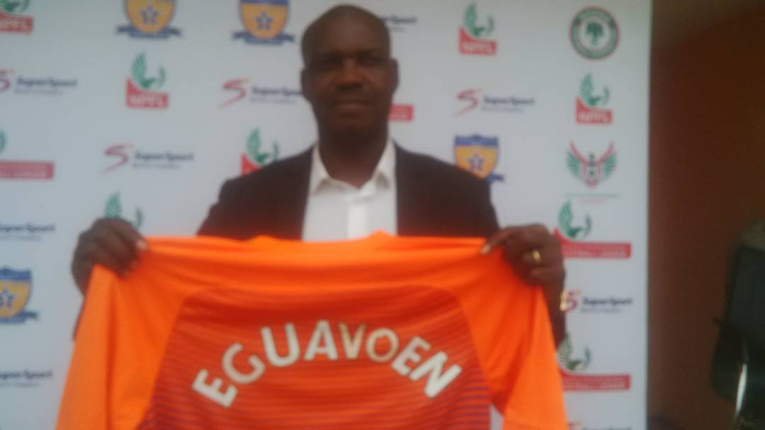 Sunshine Unveil Eguavoen, Task Him To Save Club From Relegation