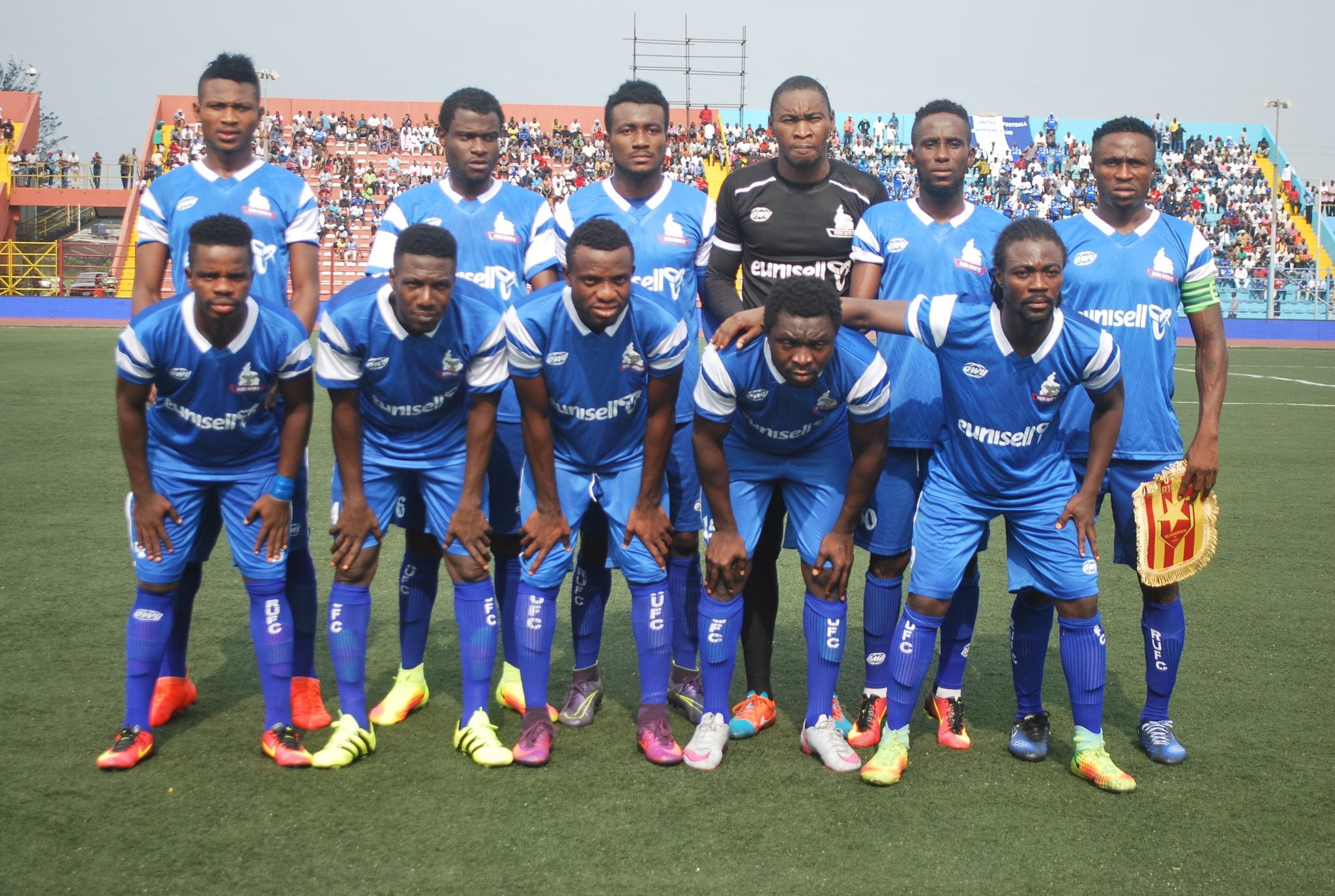 CAFCC Playoff 1st Leg: Rivers United Pip Rayon Sport 2-0
