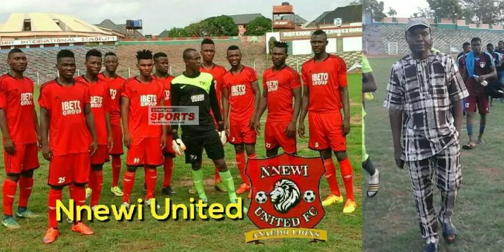 NNL: Ezeonwuka Proud Of Resurgent Nnewi United's Three-Match Unbeaten Run