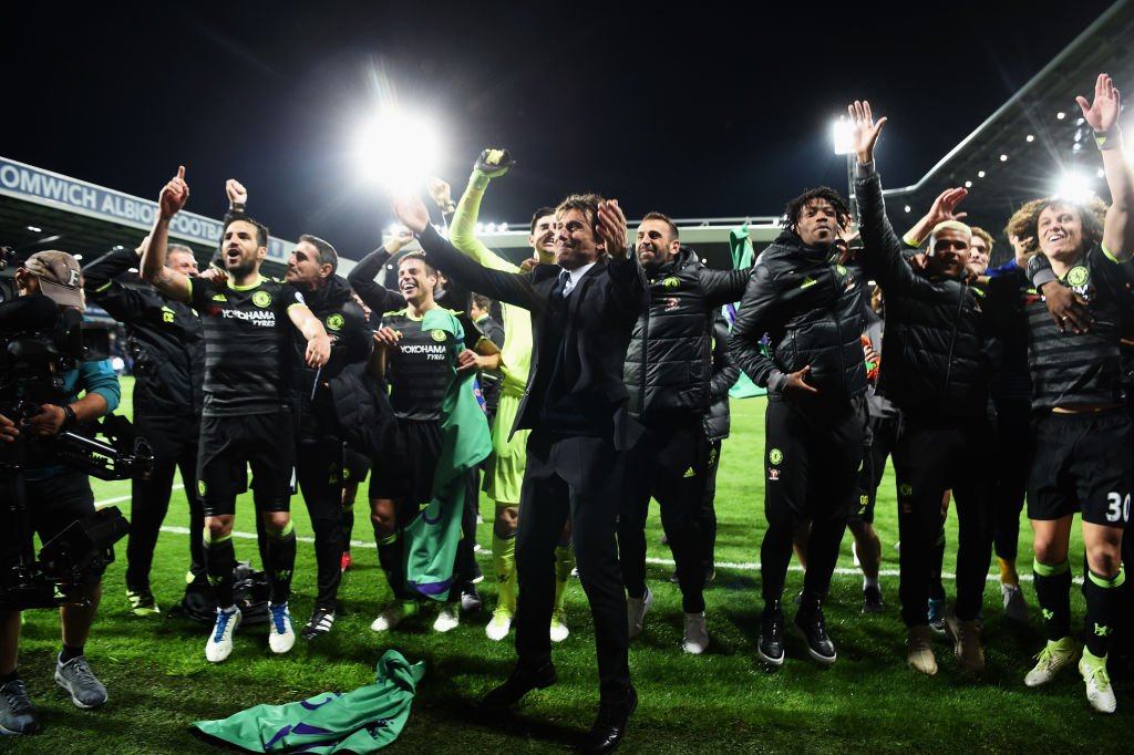 Conte: Chelsea Not Lucky To Win Premier League Title