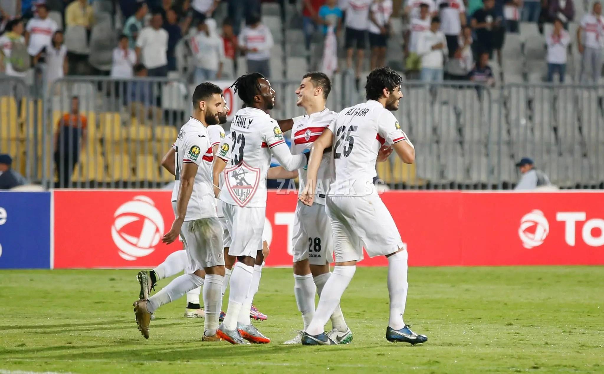 Ohawuchi Scores In Zamalek Win, Lawal Hits Third Goal In Two Games