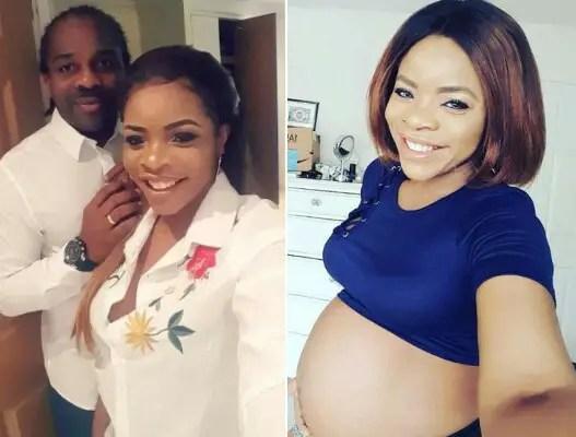 Ex-Super Eagles Defender Ogbonna Kanu Flaunts Pregnant Wife