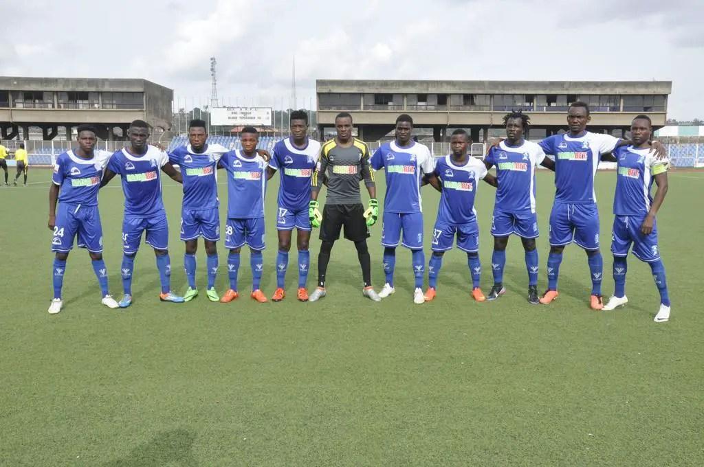 NPFL: Away Wins, Red Cards Galore As 10-Man IfeanyiUbah Thrash 3SC In Ibadan