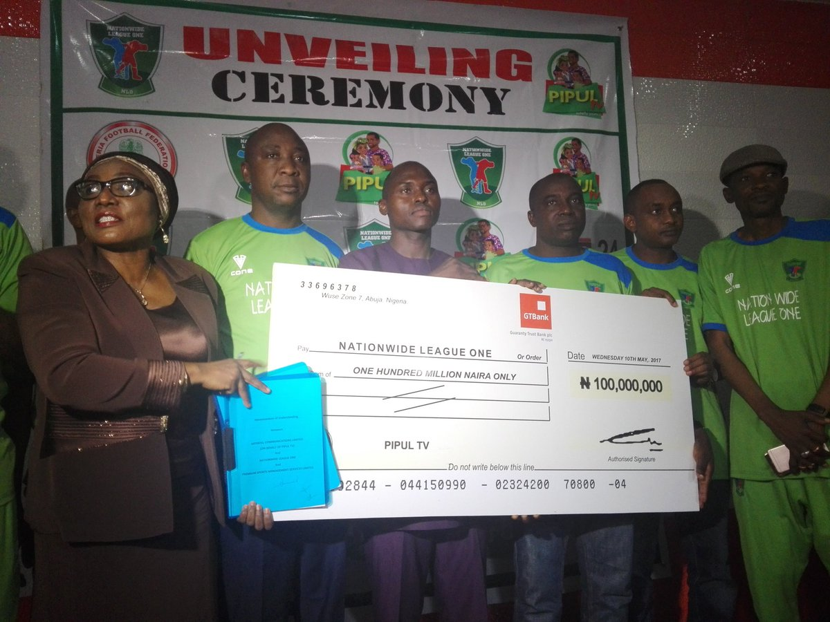 PIPUL TV Signs N100m Broadcast Deal With Nigeria Nationwide League