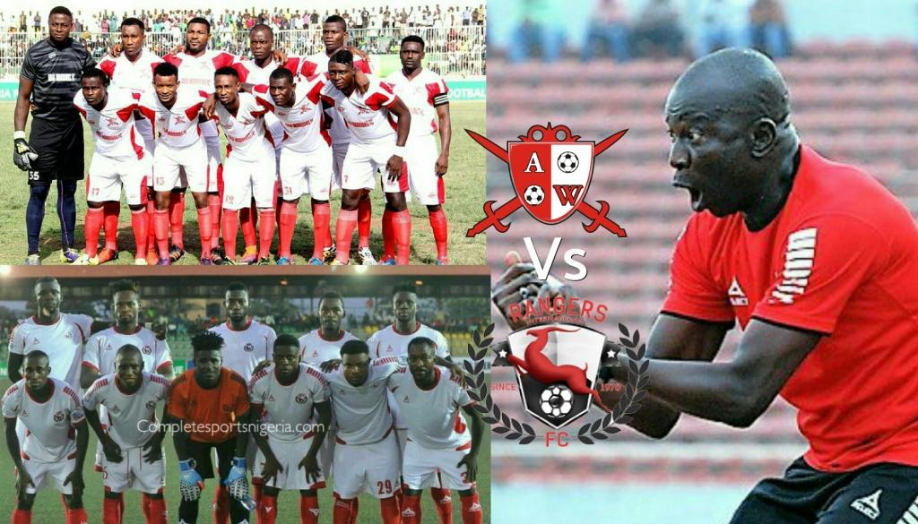 Rangers Coach Agbo: Derby Or Not, We're Going For Win At Abia Warriors