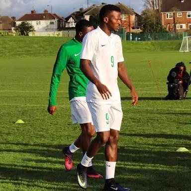 Kayode Vows To Make Super Eagles Squad For Bafana Clash