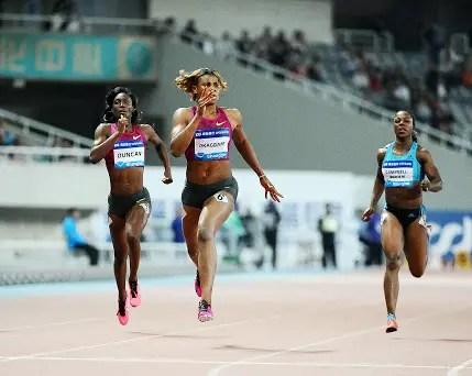 Okagbare Out Of Eugene IAAF Diamond League
