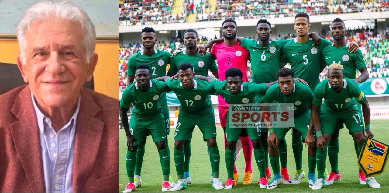 Mastoroudes: Super Eagles Have Capacity To Overcome Bafana Setback; Must Fight Cameroon 'Fire To Fire'