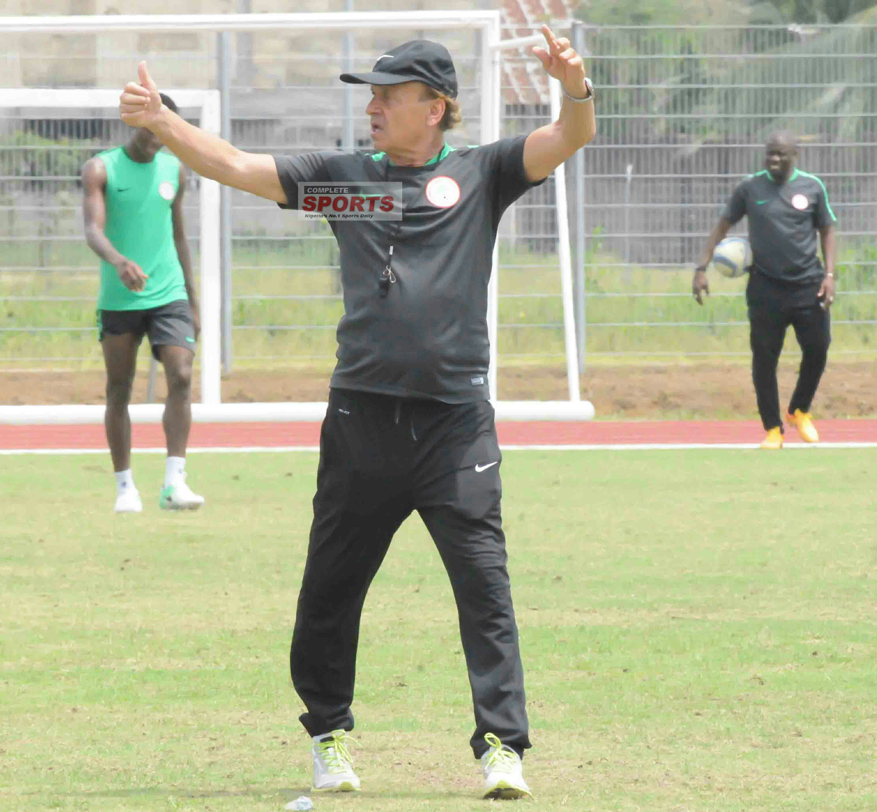 Amuneke: Rohr, NFF On Course; Need Nigerians' Support