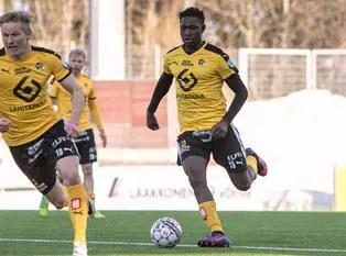 Finnish League: Gabriel Scores, Egwuekwe Benched In KuPS Win Vs PS Kemi