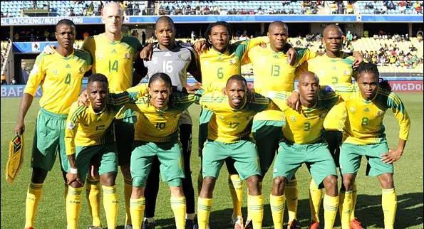 Bafana To Open CampOn SundayFor Super Eagles Clash