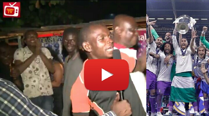 VIDEO: Nigerian Fans React To Real Madrid's UCL Final Win Vs Juventus