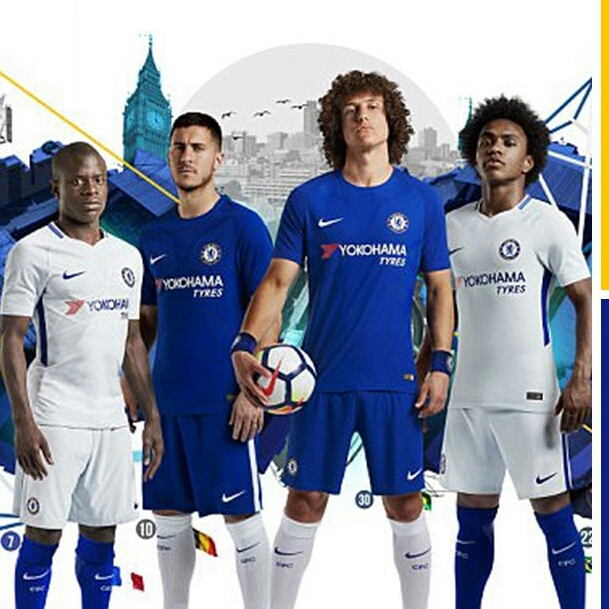Champions Chelsea Launch New 2017/2018 Nike Jerseys