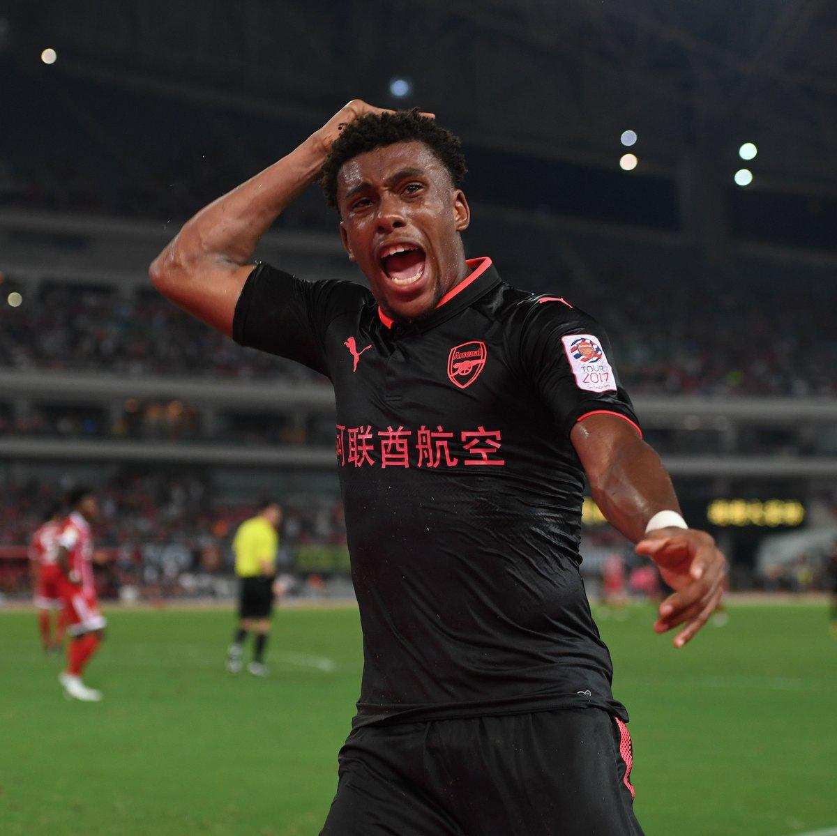 Iwobi's 'Great Goal' Vs Bayern Munich Thrills Wenger