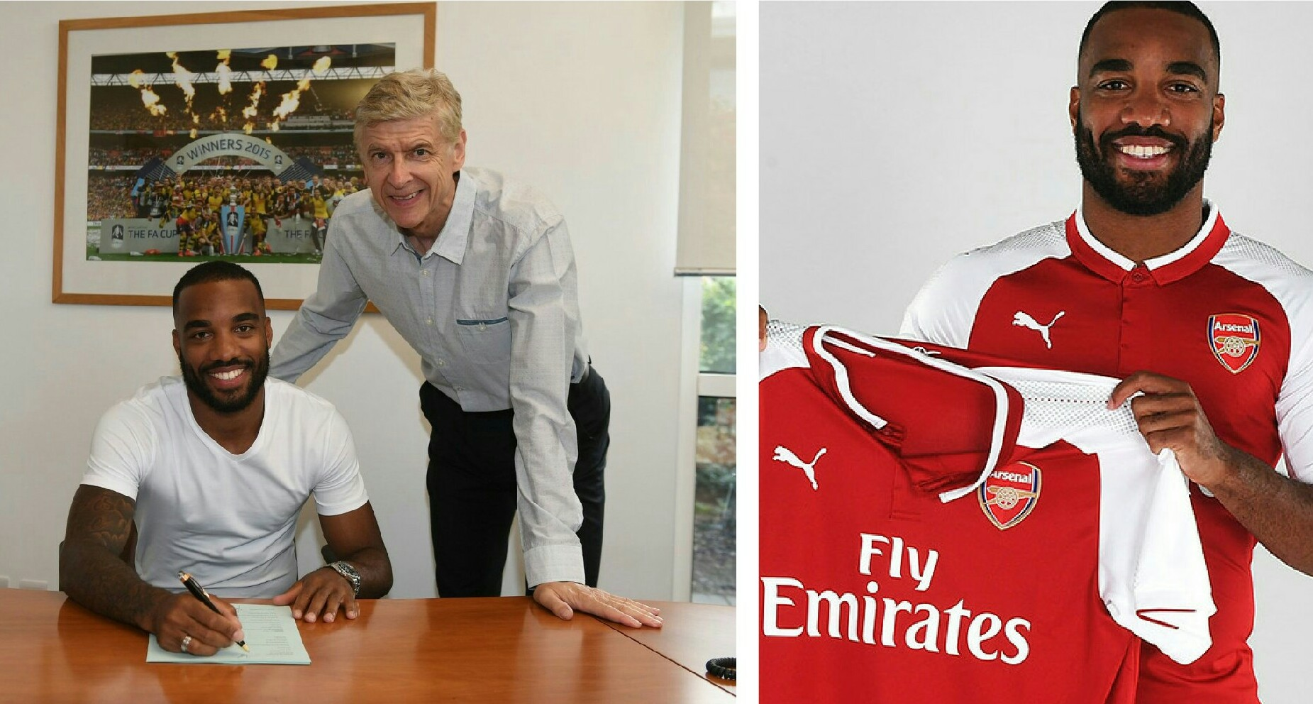 Arsenal Confirm Five-Year LacazetteClubRecord Deal Worth£52m