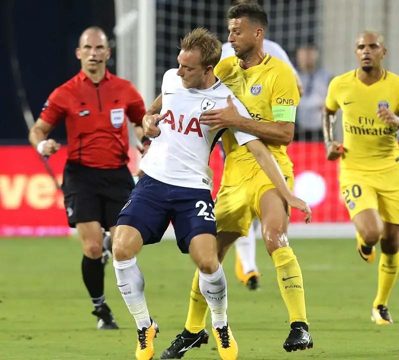 ICC: Tottenham Edge 10-Man PSG