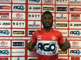 Ajagun Delighted To join KV Kortrijk