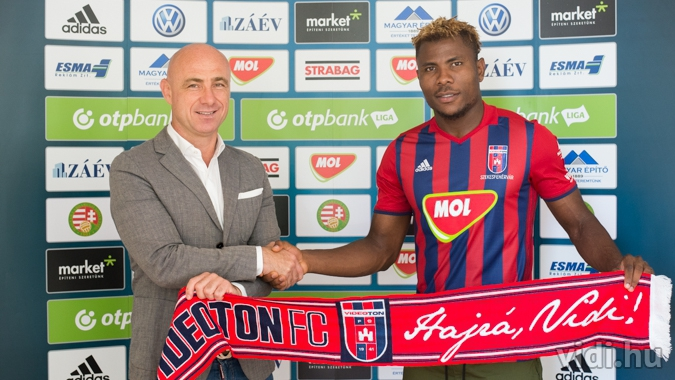 Nigerian Henty Joins Hungary's Videoton From Lokomotiv Moscow