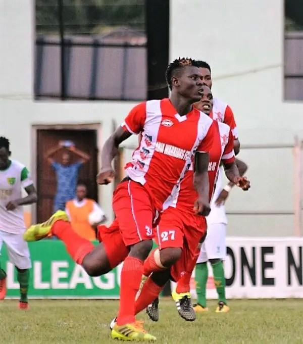 Asiegbu Beats Odey, Newman To VAT NPFL Wonder Goal For Matchday-25
