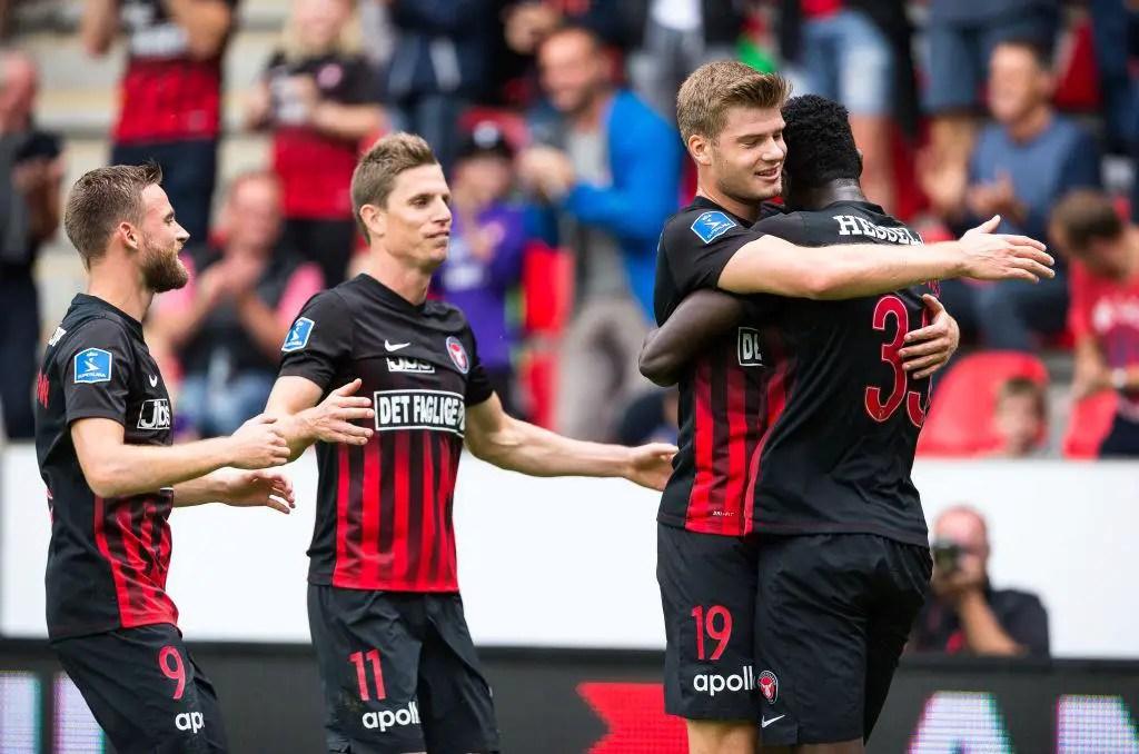 Danish League: Onuachu Scores, Hassan Subbed On In Midtjylland's Home Win Vs Randers