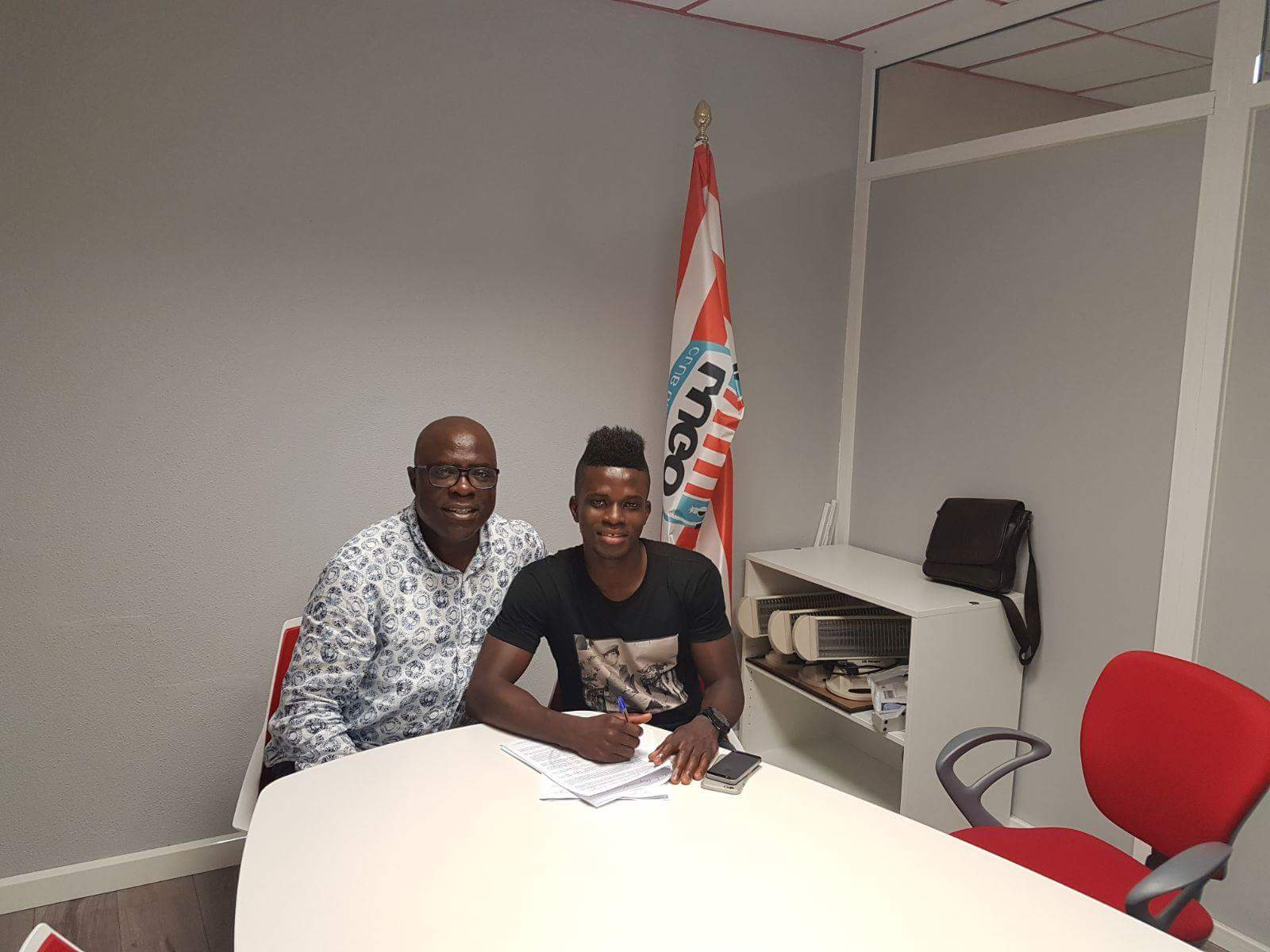 Azeez Joins Spanish Second Division Club FC Lugo On Two-Year Deal
