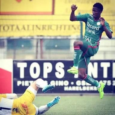 Olayinka Hits Hat Trick; Aluko, Ehizubue On Target In Pre-Season Friendlies; Balogun ReturnsIn Mainz Win