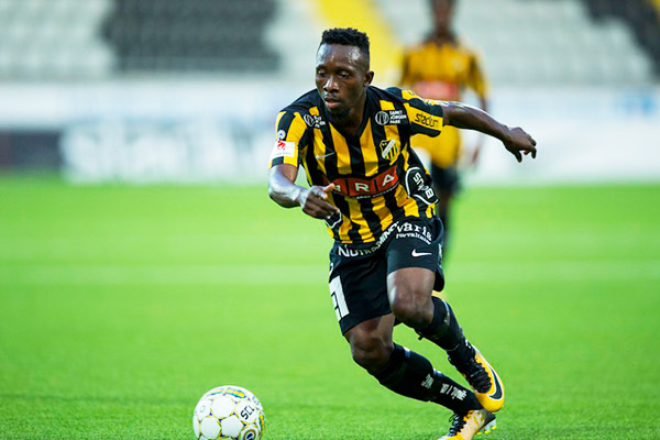Egbuchulam Excited With Hat Trick, Assist In Hacken's Big Cup Win