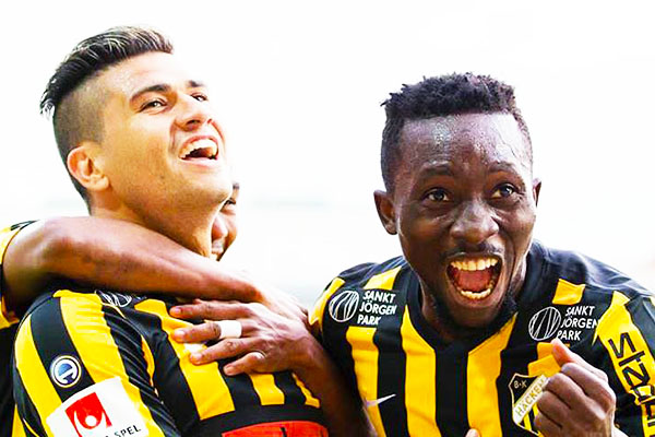Egbuchulam Bags Hat-trick For Hacken In Swedish Cup Rout