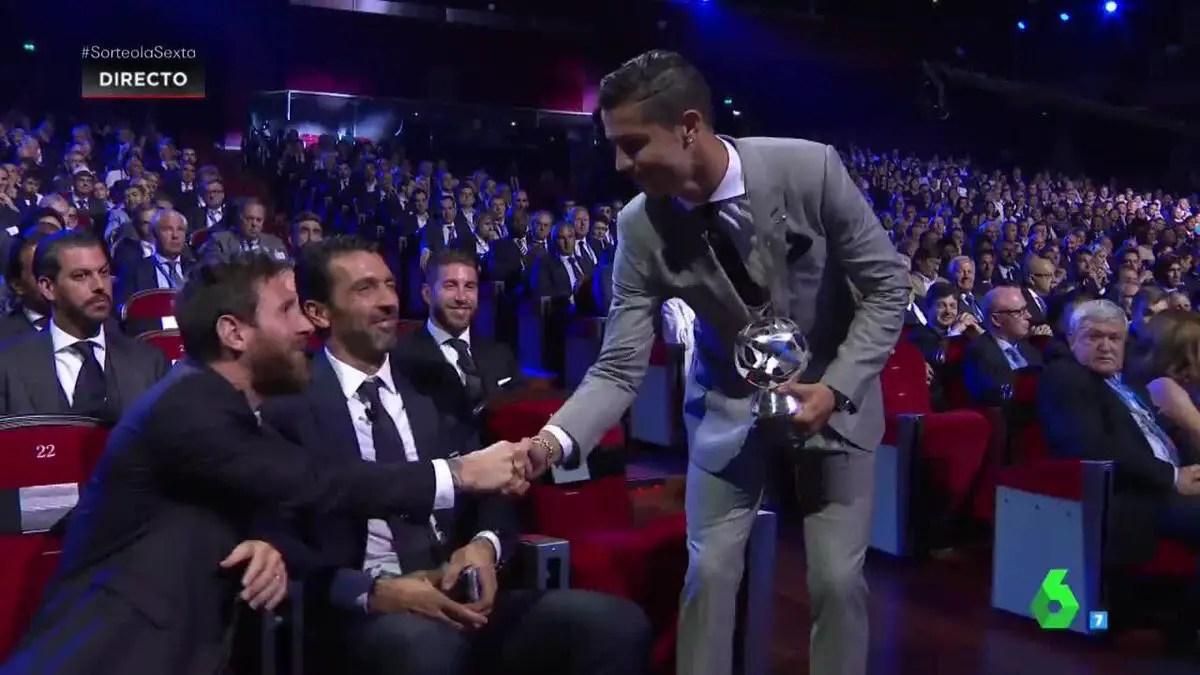 Ronaldo, Real Madrid Stars Sweep Champions League Awards