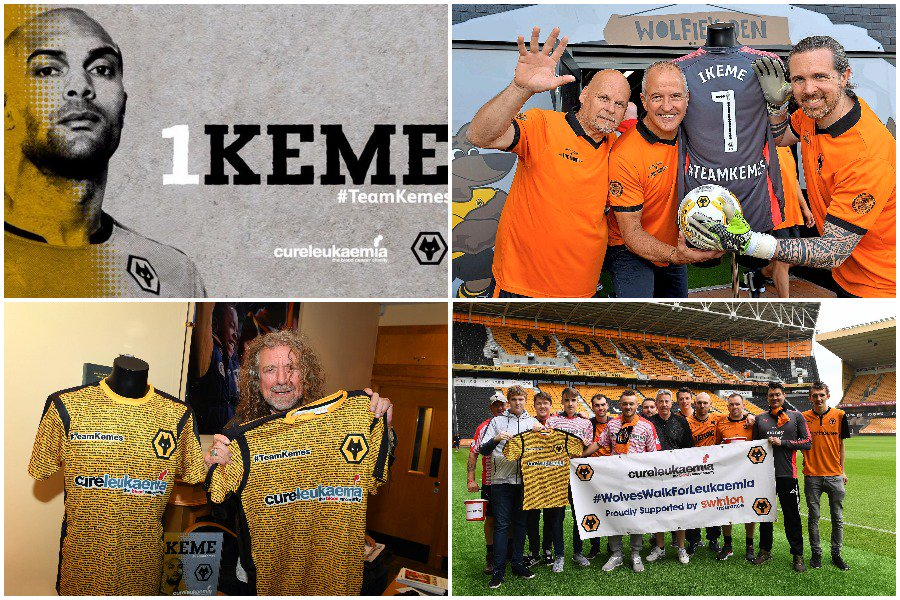 Ikeme Happy As Over £70k Is Raised In Fight Against Leukaemia