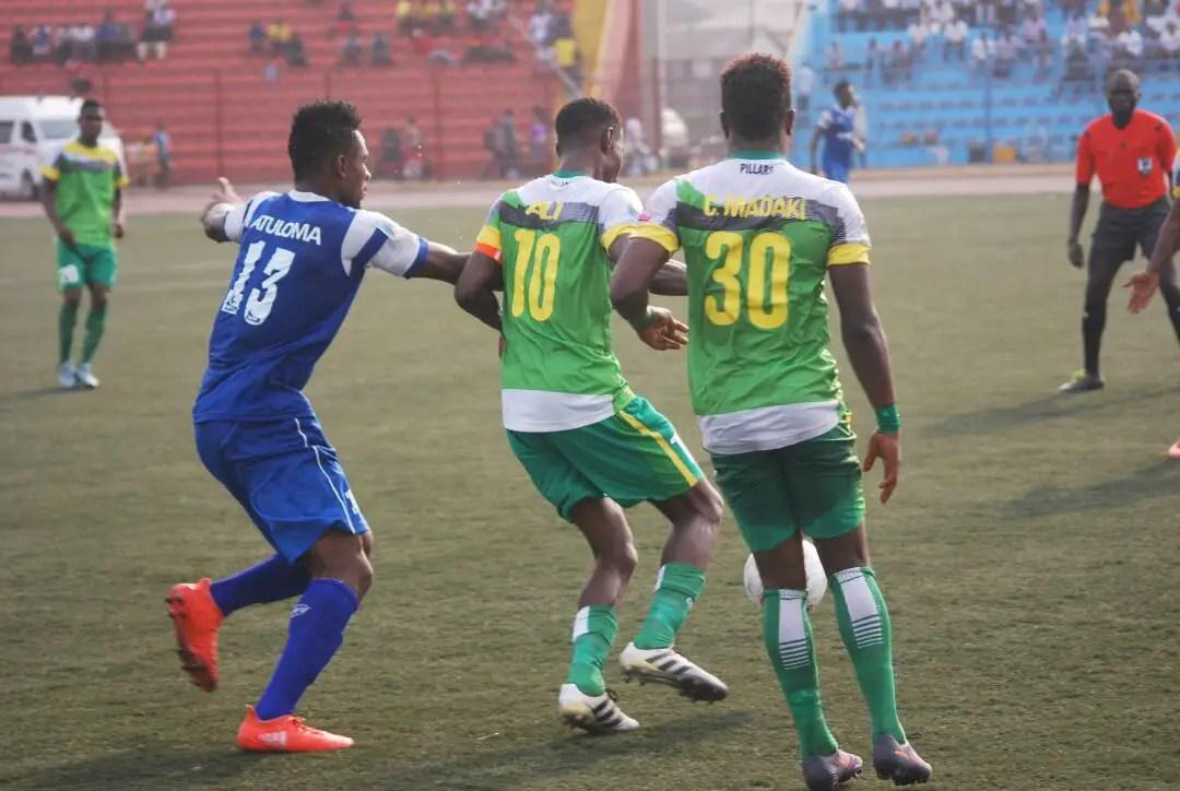 NPFL: Ali Bags Brace As Pillars Compound Rivers United's Struggles