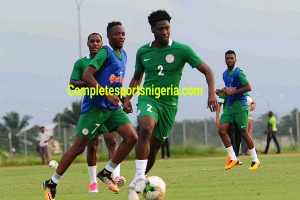 Rohr: Aina Will Give Echiejile Good Competition In Super Eagles