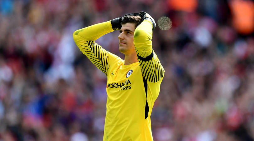 Conte Defends Courtois Over Penalty Miss