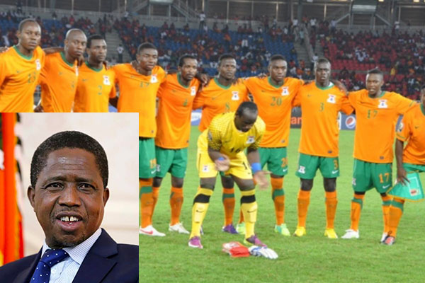 Zambia President Offers Chipolopolo Support Vs Super Eagles